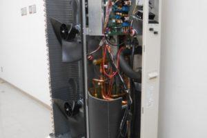 Pompa 12 kW Chofu in sectiune